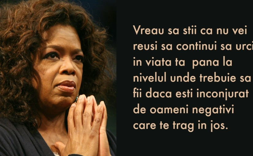 Lecții de viață de la femeia care știe să trăiască frumos, OprahWinfrey!
