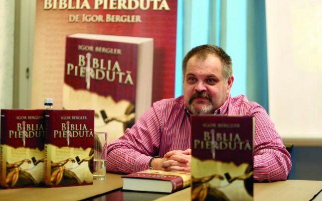 """Citindu-l pe Igor Bergler. Cartea """"Bibliapierdută""""."""