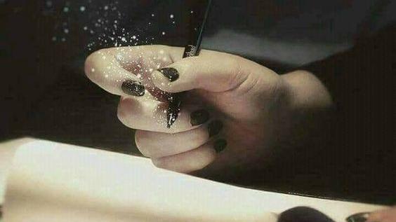 Scrisul înseamnă să ai răbdare cutine!