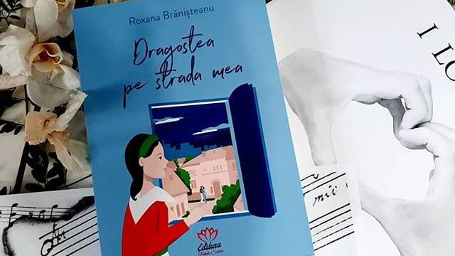 """Citind-o pe Roxana Brănișteanu. Cartea """"Dragostea pe stradamea""""!"""