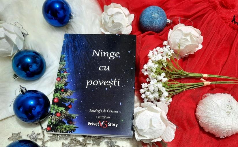 """Citind cartea """"Ninge cu povești. Antologia de Crăciun a Autorilor VelvetStory."""""""