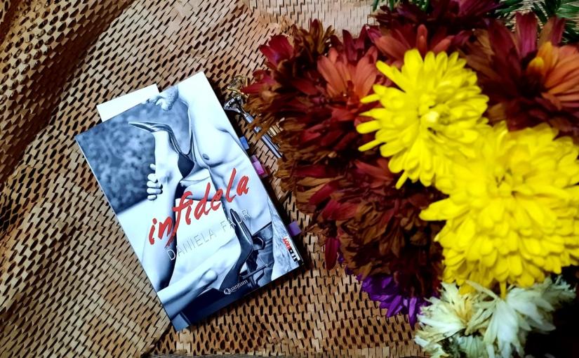 """Citind-o pe Daniela Faur. Cartea """"Infidela""""!"""