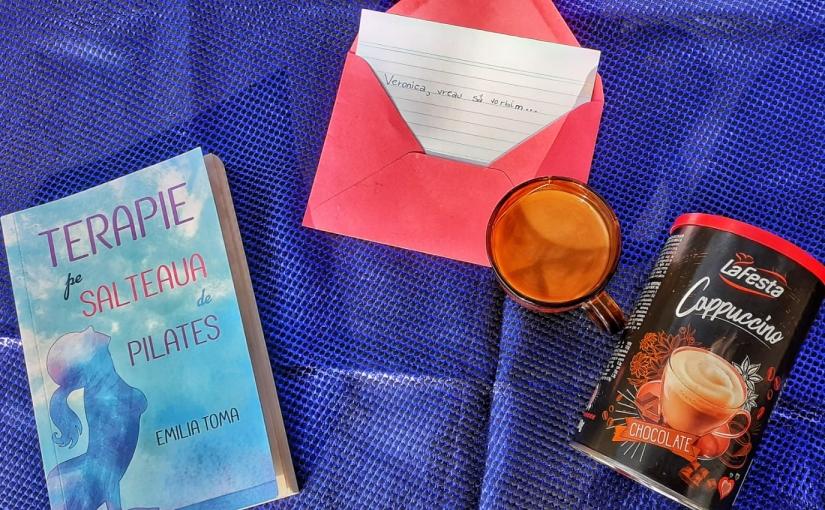 "Citind-o pe Emilia Toma. Cartea ""Terapie pe Salteaua dePilates!"""