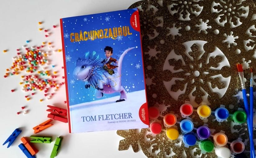 """Citind-ul pe Tom Fletcher. Cartea """"Crăciunozaurul""""!"""