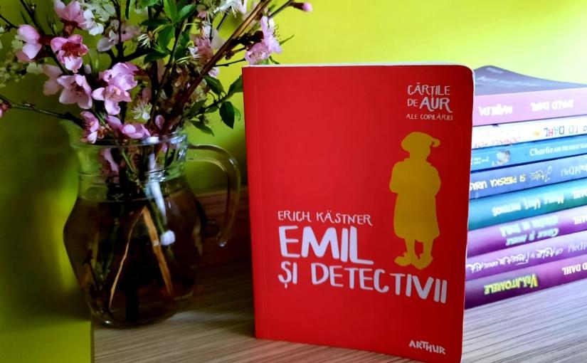 """Citindu-l pe Erich Kästner. Cartea """"Emil și detectivii""""!"""