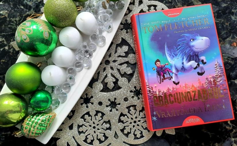 """Citindu-l pe Tom Fletcher. Cartea """"Crăciunozaurul și VrăjitoareaIarnă!"""""""