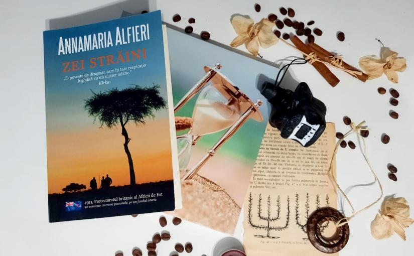 """Citind-o pe Anamaria Alfieri. Cartea """"ZeiStrăini""""!"""